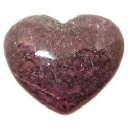 Coeur en Rhodonite