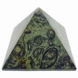 Pyramide en Jaspe Kambaba