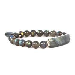 Bracelet Charme en Labradorite