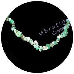 Collier Baroque en Chrysoprase