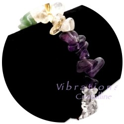 Bracelet Baroque 7 Chakras