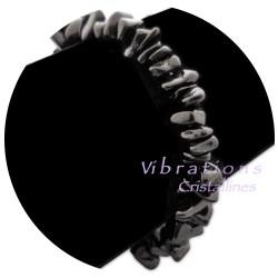 Bracelet Baroque en Obsidienne Noire