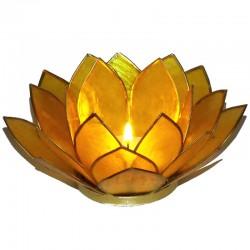 Photophore Lotus Jaune