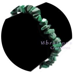 Bracelet Baroque en Malachite