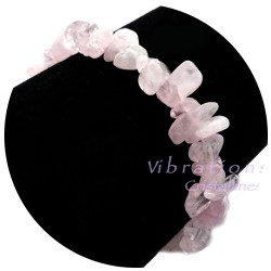 Bracelet Baroque en Quartz Rose