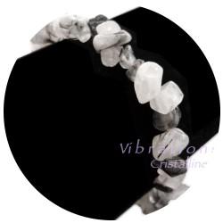 Bracelet Baroque en Quartz Tourmaline