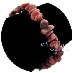 Bracelet Baroque en Rhodonite