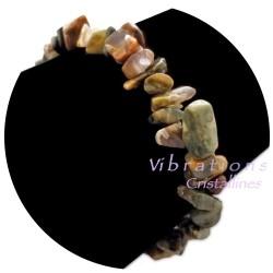 Bracelet Baroque en Rhyolite
