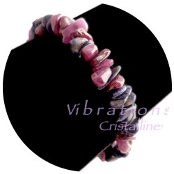 Bracelet Baroque en Saphir & Rubis