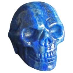 Crâne en Lapis-Lazuli