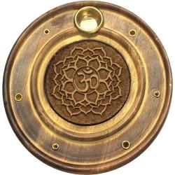 Brûle-Encens Fleur de Lotus en Bois