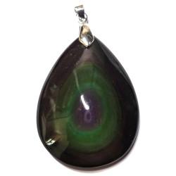 Pendentif Cabochon en Obsidienne Oeil Céleste