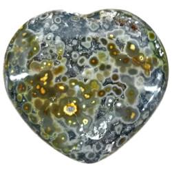 Coeur en Jaspe Orbiculaire