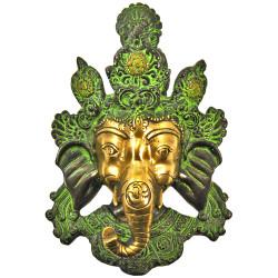 Masque Ganesh en Bronze