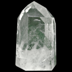 Pointe en Cristal de Roche Fantôme