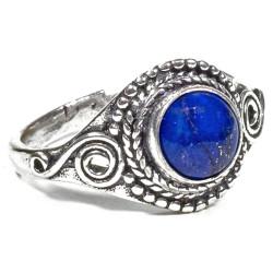Bague Laiton & Lapis-Lazuli