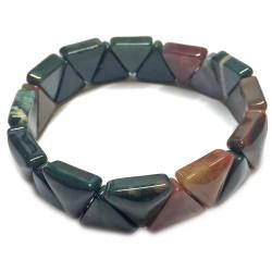 Bracelet en Jaspe Polychrome