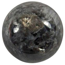 Sphère en Larvikite