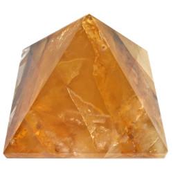Pyramide en Quartz Hématoïde