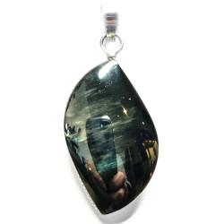 Pendentif en Obsidienne Mentogochol