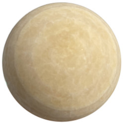 Sphère en Calcite Jaune