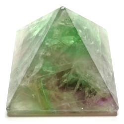 Pyramide en Fluorite Multicolore
