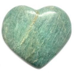 Coeur en Amazonite