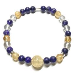 Bracelet Boules 3 Pierres