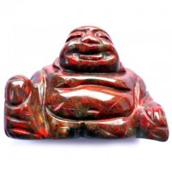 Bouddha en Jaspe Breschia