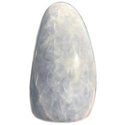 Forme libre en Calcite Bleue