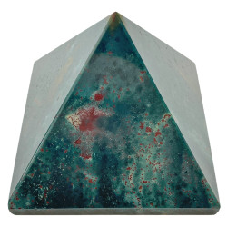 Pyramide en Jaspe Héliotrope