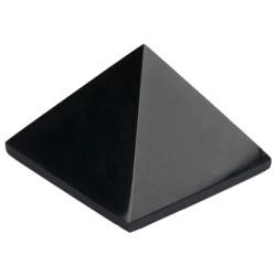 Pyramide en Obsidienne Noire