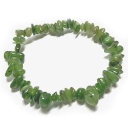 Bracelet Baroque en Jade Néphrite