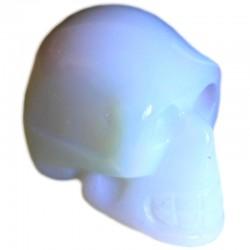 Crâne en Opaline