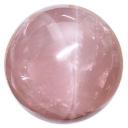 Sphère en Quartz Rose
