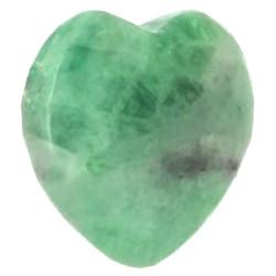 Pendentif Coeur en Fluorite