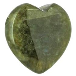 Pendentif Coeur en Labradorite