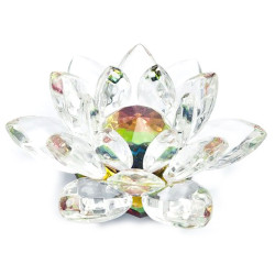 Fleur de Lotus de Cristal