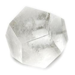 Dodécaèdre en Cristal de Roche