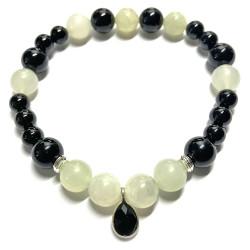 Bracelet en Jade & Onyx