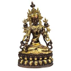 Statuette Bouddha Tara Blanche