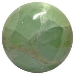 Sphère d'Aragonite Verte