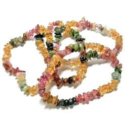 Bracelet Baroque en Tourmaline Multicolore