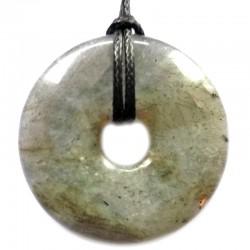 Pendentif Donut en Labradorite