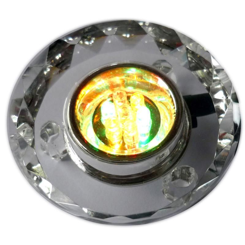 Socle Lumineux en Cristal