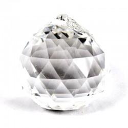 Boule Facettée de Cristal
