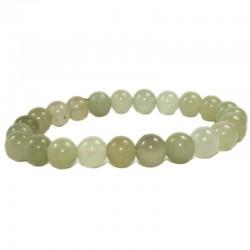 Bracelet Boules en Jade de Chine