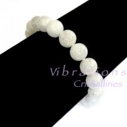 Bracelet Boules en Pierre de Lune