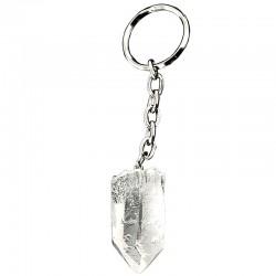 Porte-clés en Cristal de Roche