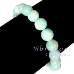 Bracelet Boules en Amazonite